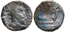 Ancient Coins - Postumus LAETITIA AVG from Lyons