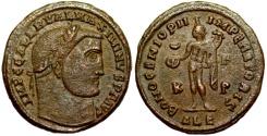 Ancient Coins - Maximinus II BONO GENIO PII IMPERATORIS from Alexandria