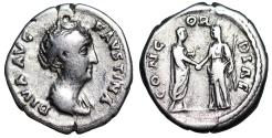 Ancient Coins - Faustina I CONCORDIAE from Rome