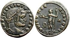 Ancient Coins - Licinius I IOVI CONSERVATORI from Siscia