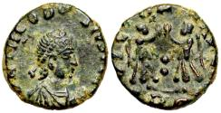 Ancient Coins - Theodosius I VICTORIA AVGGG from Rome