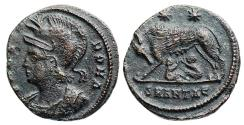 """Ancient Coins - VRBS ROMA from Antioch...""""death workshop"""" and Not in RIC"""