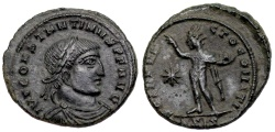 Ancient Coins - Constantine I SOL from Siscia