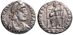 Ancient Coins - Gratian VIRTVS ROMANORVM from Trier
