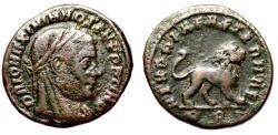 Ancient Coins - Divus Maximianus MEMORIAE AETERNAE from Rome