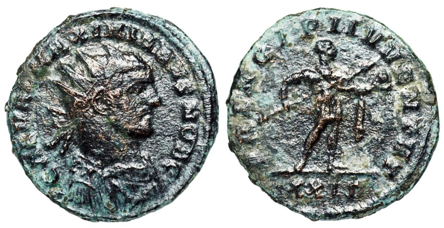 Ancient Coins - Galerius PRINCIPI IVVENTVT from Rome