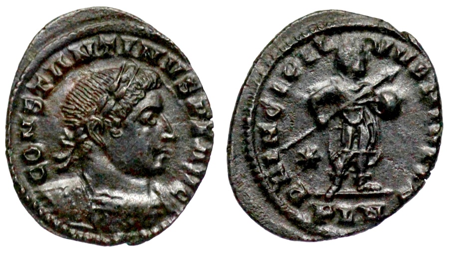 Ancient Coins - Constantine I PRINCIPI IVVENTVTIS from London