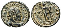 Ancient Coins - Licinius GENIO POP ROM from Trier