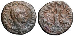 Ancient Coins - Valerian P M S COL VIM Moesia reverse from Viminacium