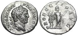 Ancient Coins - Caracalla PROFECTIO AVG reverse with Caracalla