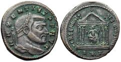 Ancient Coins - Maxentius CONSERVATO RES VRB SVAE from Rome