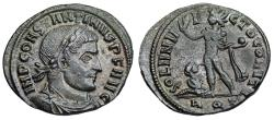 Ancient Coins - Constantine SOL from Aquileia...with captive
