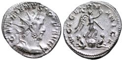 Ancient Coins - Gallienus VICT GERMANICA from Lyons/ Cologne
