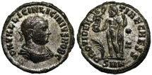 Ancient Coins - Licinius II PROVIDENTIAE CAESS from Nicomedia