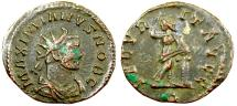 Ancient Coins - Galerius SECVRIT AVGG from Lyons