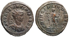 Ancient Coins - Carinus PRINCIPI IVVENTVT Rome...Not in RIC