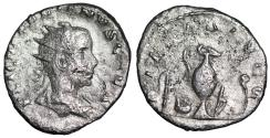 Ancient Coins - Valerian II PIETAS AVGG from Rome