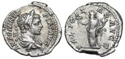 Ancient Coins - Caracalla FELICITAS AVGG from Rome