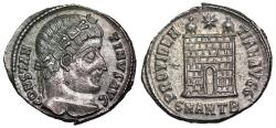 Ancient Coins - Constantine I campgate from Antioch...ex-Dattari