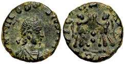 Ancient Coins - Theodosius I VICTORIA from Rome