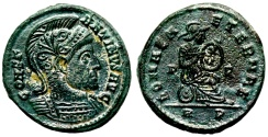 Ancient Coins - Constantine I ROMAE AETERNAE from Rome