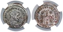 Ancient Coins - Diocletian IOV ET HERCV CONSER AVGG from Antioch…NGC certified