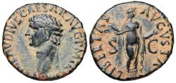 Ancient Coins - Claudius I LIBERTAS AVGVSTA from Rome