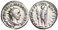 Ancient Coins - Hostilian PRINCIPI IVVENTVTIS from Rome