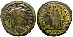 Ancient Coins - Diocletian FELIX ADVENT AVGG NN from Carthage