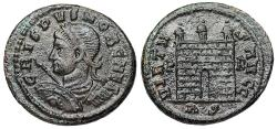 Ancient Coins - Crispus campgate from Rome
