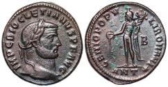 Ancient Coins - Diocletian GENIO from Antioch