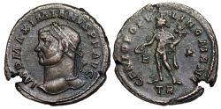 Ancient Coins - Maximianus GENIO POPVLI ROMANI from Trier