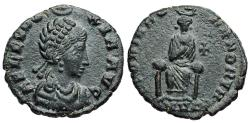 Ancient Coins - Aelia Eudoxia GLORIA ROMANORVM from Heraclea…Not in RIC