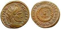 Ancient Coins - Constantine I radiate votive from Ticinum