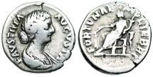 Ancient Coins - Faustina II FORTVNAE MVLIEBRI from Rome