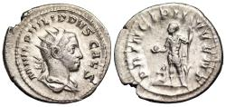 Ancient Coins - Philip II PRINCIPI IVVENT from Rome