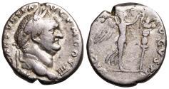 Ancient Coins - Vespasian VICTORIA AVGVSTI from Rome