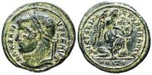Ancient Coins - Maxentius VICTORIA AETERNA AVG N from Ostia