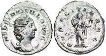 Ancient Coins - Herennia Etruscilla PVDICITIA AVG from Rome
