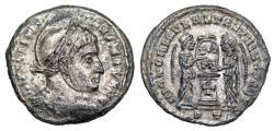 Ancient Coins - Constantine I VLPP from Ticinum...cross on altar