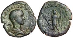 Ancient Coins - Philip II PRINCIPI IVVENTVTIS sestertius from Rome