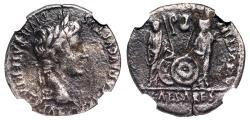 Ancient Coins - Augustus AVGVSTI F COS DESIG PRINC IVVENT from Lugdunum...NGC slab