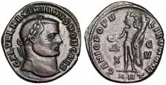 """Ancient Coins - Galerius GENIO POPVLI ROMANI from Antioch…""""death"""" workshop"""