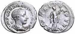 Ancient Coins - Gordian III DIANA LVCIFERA denarius from Rome