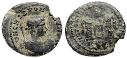 Ancient Coins - Crispus VLPP from Lyons…rare bust type