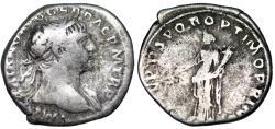 Ancient Coins - Trajan COS V P P SPQR OPTIMO PRINC; Felicitas from Rome