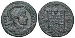 Ancient Coins - Constantine I campgate from Rome