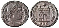 Ancient Coins - Constantine I campgate from Nicomedia...ex-Dattari