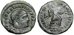 Ancient Coins - Constantine I MARTI CONSERVATORI from Arles...Not in RIC