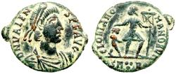 Ancient Coins - Valens  GLORIA ROMANORVM  from Rome...Not in RIC
